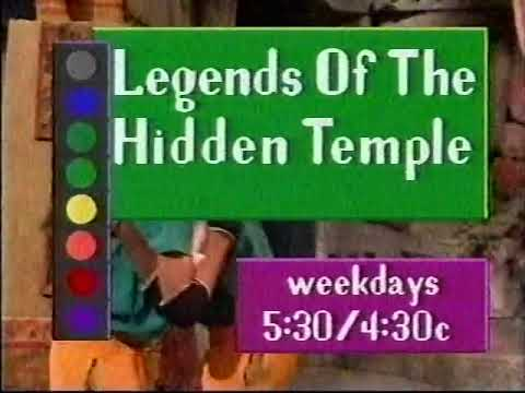 Legends Of The Hidden Temple Promo, 1994