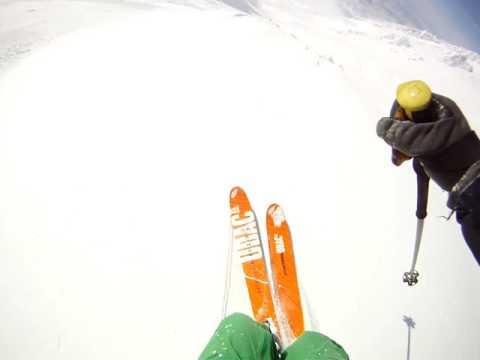 Ski hors piste au Japon