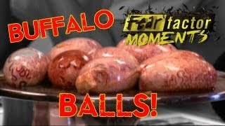 Fear Factor Moments | Buffalo Testicles