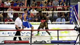 Haringey Box Cup SF - Jordan Thompson v. Michael Chapman