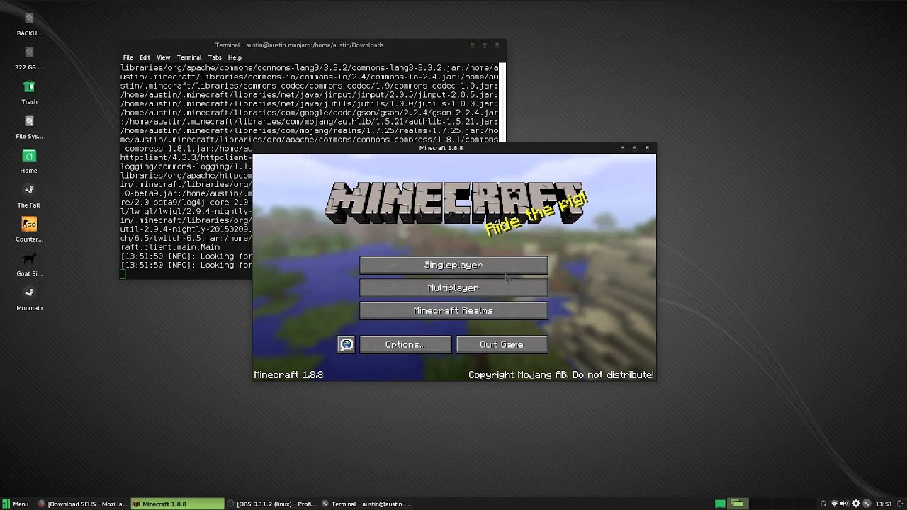 How to Install Shaders in Minecraft 12.12.12 (On Linux!)