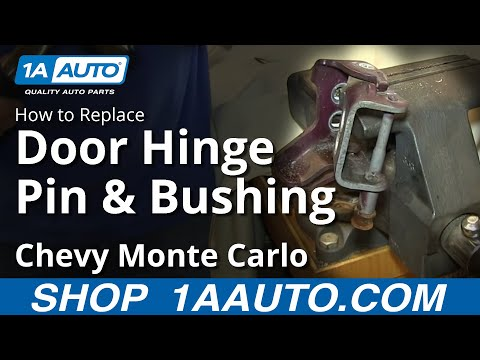 How to Replace Door Hinge Pin & Bushing 00-07 Chevy Monte Carlo