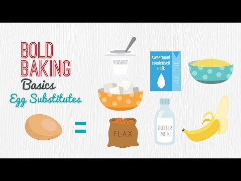 Egg Substitutes for Baking Recipes (Vegan & Vegetarian Baking) Gemma's Bold Baking Basics Ep  6