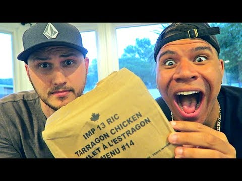 Thumbnail: Testing Canadian Military MRE (Meal Ready to Eat)