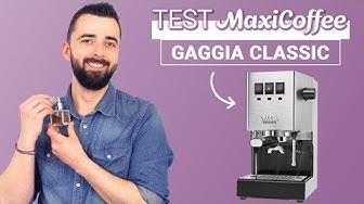 GAGGIA CLASSIC RI9480/11| Machine expresso compacte | Le Test MaxiCoffee