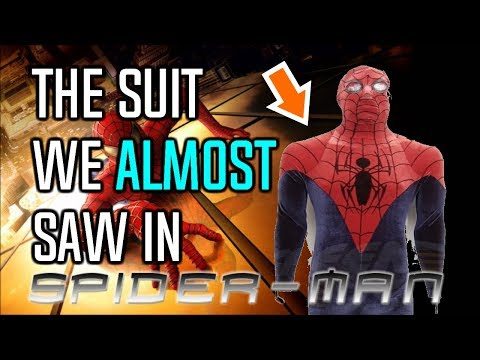The Suit We ALMOST Saw in Sam Raimi's 'Spider-Man' (2002)