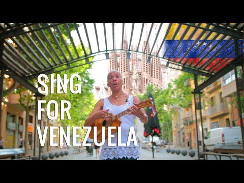 "Song for Venezuela from Barcelona - ""Lucha Constante"""