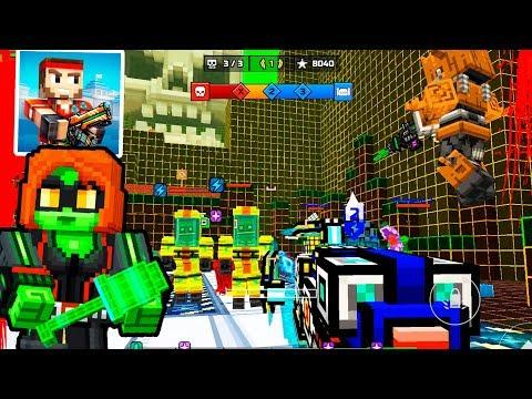 Pixel Gun 3D - Insane Monster Siege//Clan War