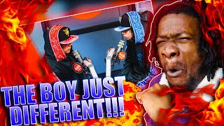 EZ WENT OFF! | Ez Mil and HBOM perform 'Cultura' LIVE on the Wish USA Bus (REACTION)