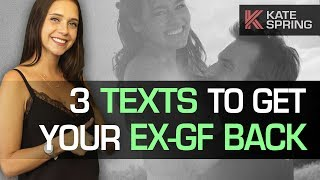 3 Texts To Send Your Ex-Girlfriend (And Win Her Back!)