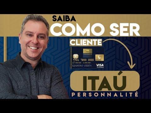 💳Itaú Personnalite Como fazer para se transformar em um cliente Itaú Alta Renda🔝