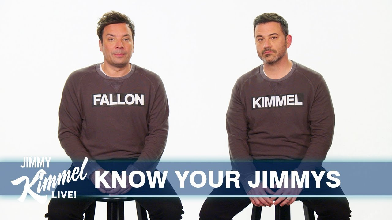 Download Jimmy Kimmel & Jimmy Fallon Finally Clear Up Who Is Who