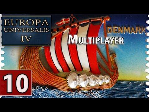 Europa Universalis IV - Multiplayer in Swedish - Denmark - The Cossacks DLC - Late Recording - E10