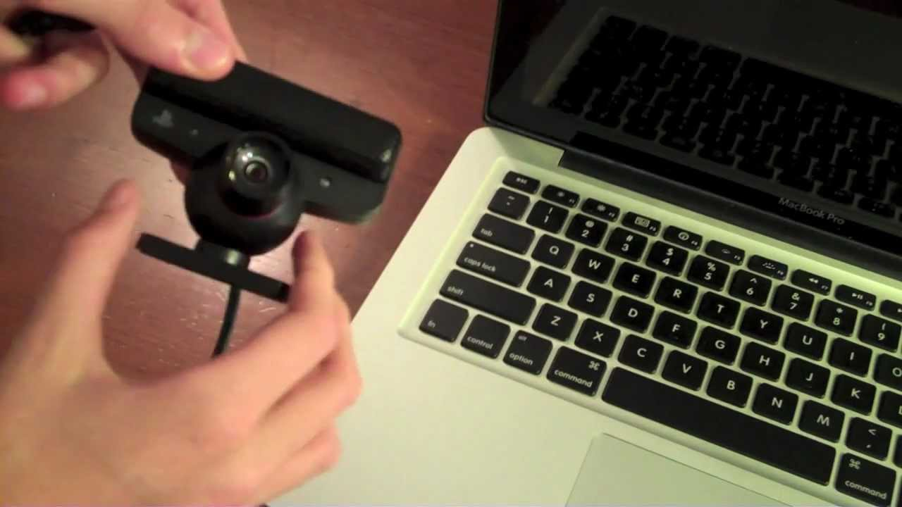 How To Use A Playstation Eye Webcam With Mac Youtube