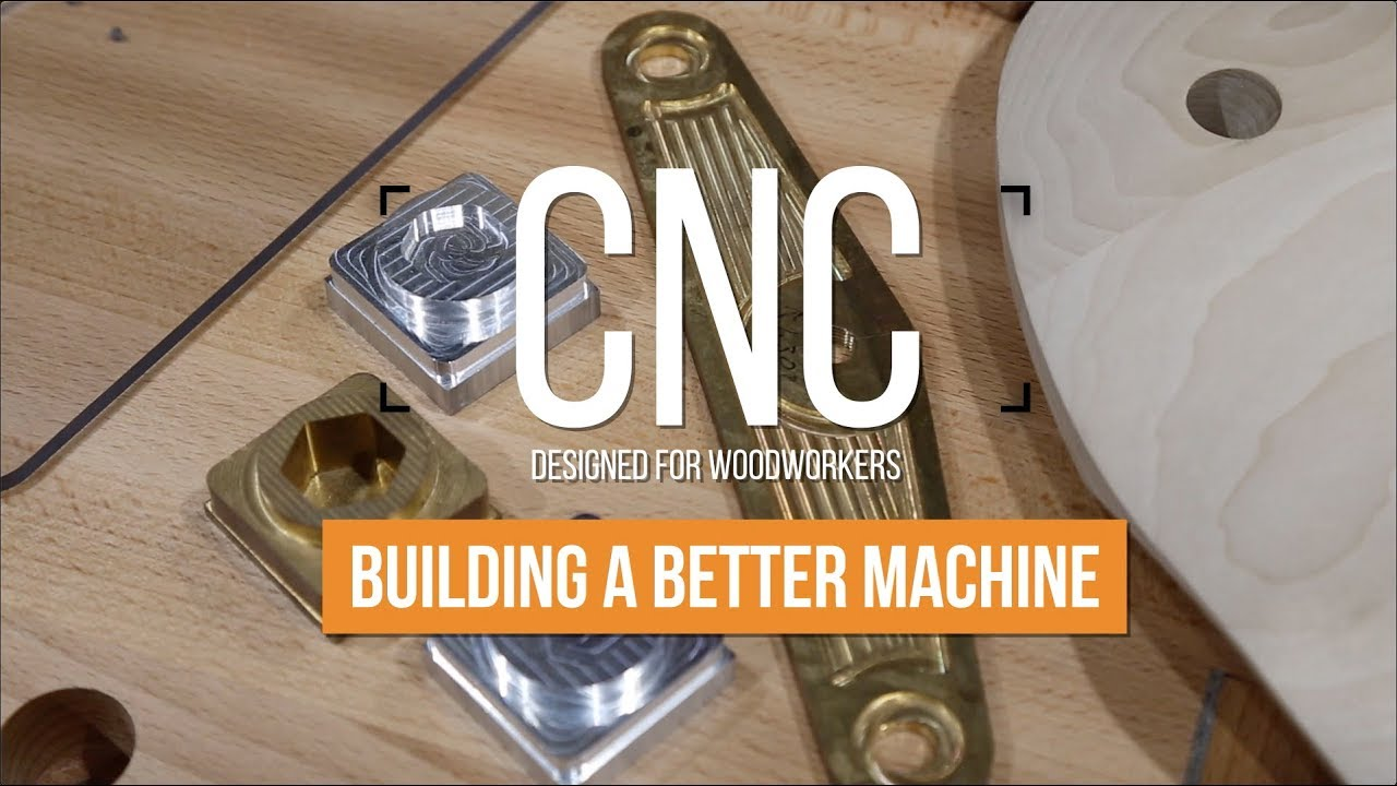 `Building a Better CNC Machine` Popular Woodworking Visits Axiom Tool Group  - Episode 1