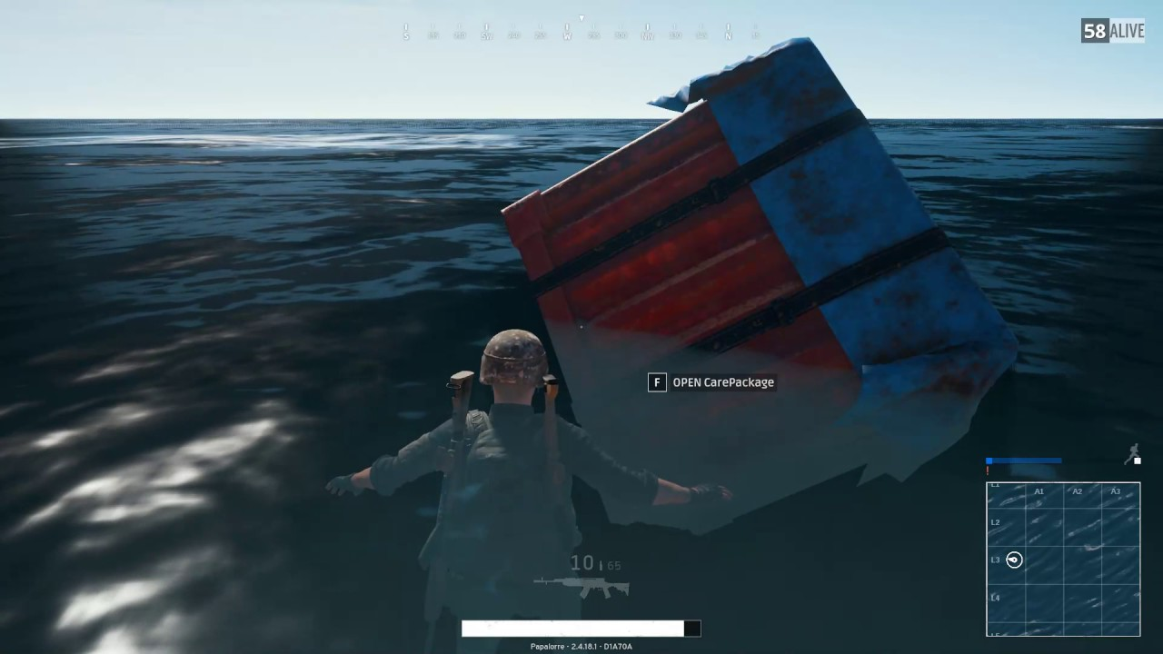PUBG broken airdrop?