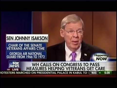 FOX News: Isakson on Senate Veterans