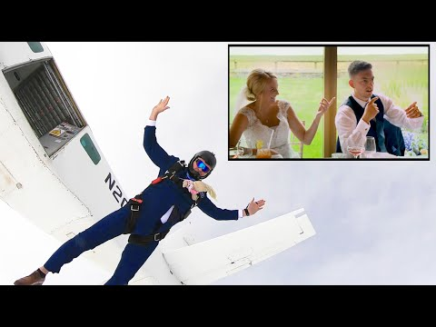 Bruce, John and Janine - You've Gotta WATCH THIS!  Dad goes James Bond at Daughter's Wedding!
