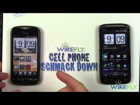 Schmackdown! HTC Sensation vs T-Mobile myTouch 4G Slide