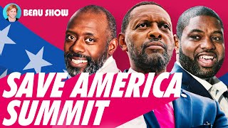 Black conservatives flipping the script | Save America summit 2021| The Beau Show