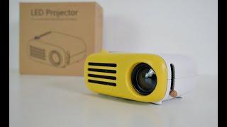 "Mini Portable Kids Projector YG200/YG205 - 50"" Screen - Under $50"