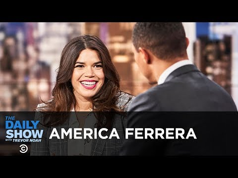 """America Ferrera – Standing with Christine Blasey Ford & """"American Like Me"""" 