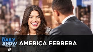 "America Ferrera - Standing with Christine Blasey Ford & ""American Like Me"" 