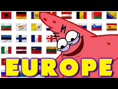 EVERY COUNTRY IN 5 SECONDS - EUROPE