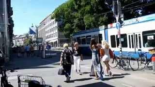 Швейцария. Какие они, жительницы Цюриха? Путешествие в Швейцарию(Спасибо за подписку на мой канал и за лайк! Мой канал - LeporelloTV . В этом видео хочу показать Вам, милых жительни..., 2014-08-04T13:38:57.000Z)