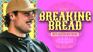 Auston Matthews Eats Traditional Mexican Food While Discussing His Latin Heritage