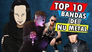 TOP 10 MAIORES BANDAS DE NU METAL DO MUNDO  🎧😆