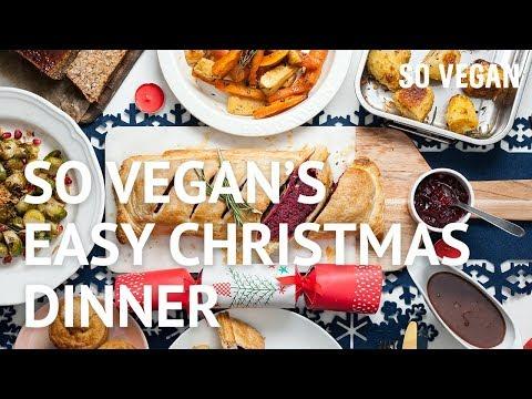 So Vegan's Easy Christmas Dinner | SO VEGAN