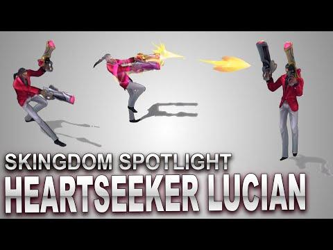 Heartseeker Lucian Skin Spotlight   SKingdom - League of Legends