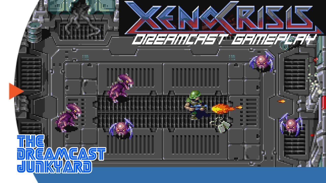 Xeno Crisis - Dreamcast Gameplay