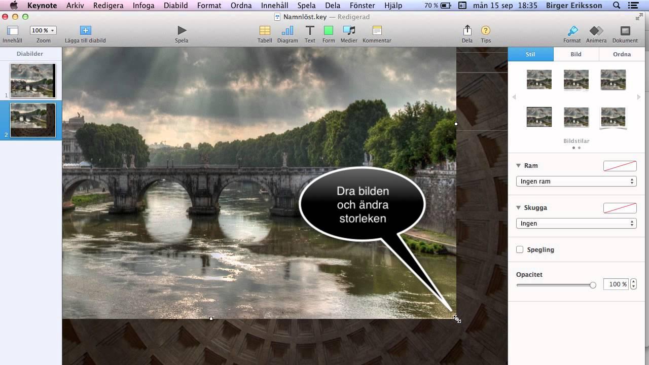 bildspel mac gratis