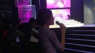 "OFF CAM: Toni Gonzaga sings ""Catch Me I"