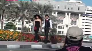 Foto Pre-Wedding Ussy Sulistiawaty & Andhika Pratama Di Burj Al-Arab