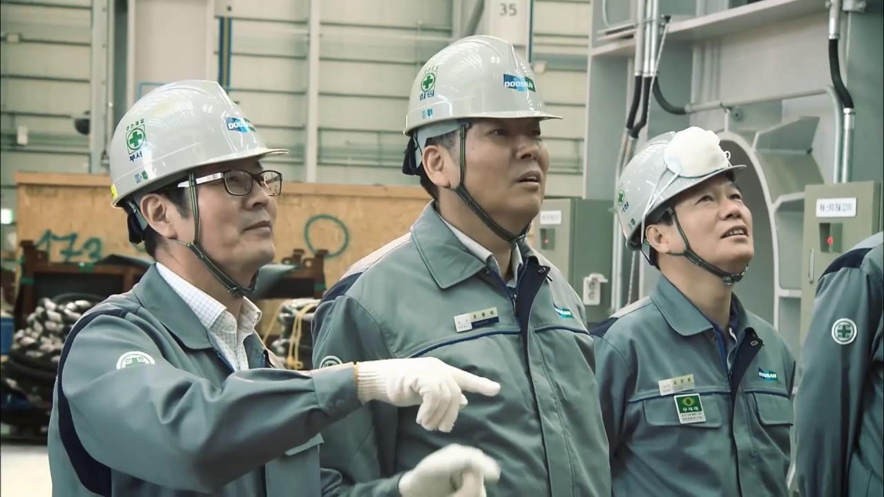 Doosan's new 17,000-ton forging press