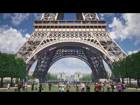 Grand Site Tour Eiffel - Projet Amanda Levete Architects