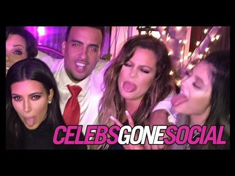 The Kardashians Celebrate French Montana's 30th Birthday