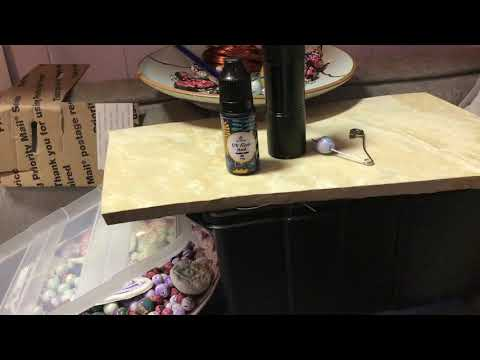 Use UV Resin for Glazing Polyclay Glitter Beads Tutorial and Review.