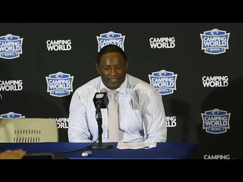 Dino Babers' postgame news conference after Syracuse football in Camping World Bowl (2018)