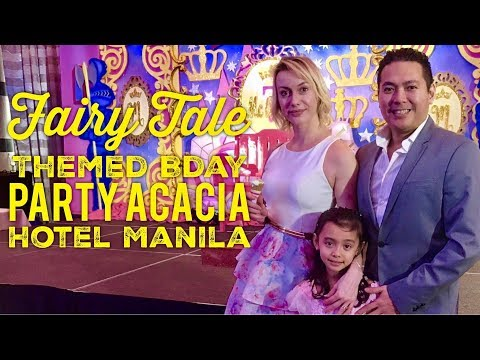 Fairy Tale Themed Birthday Party Acacia Hotel Manila Alabang by HourPhilippines.com