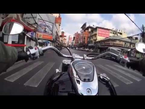 Riding with Suzuki Boulevard C50