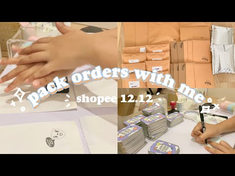 Mini Studio Vlog Ep. 16 : Shopee 12.12, Packing Orders || Indonesia