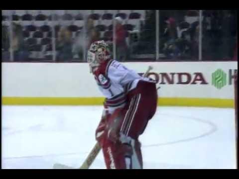 Ohio State Hockey Wins Shootout with Alaska
