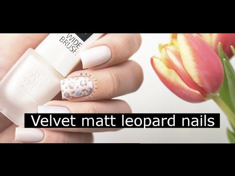 isadora velvet matt nails