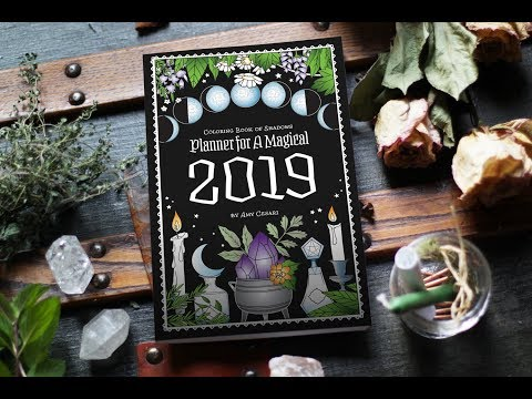 67 Coloring Book Of Shadows Southern Hemisphere Planner For A Magical 2019 HD