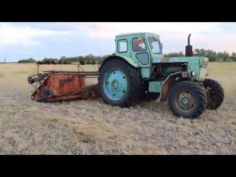 Мтз 80 на грязи - YouTube