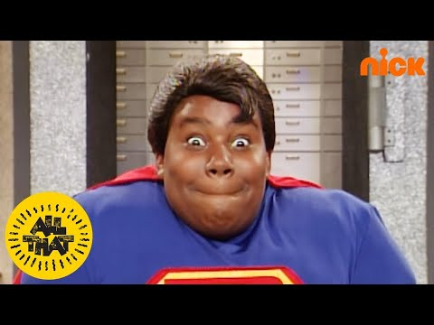 Kenan Thompson is Super Dude  All That  Nick Splat
